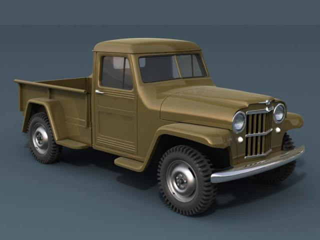 1951 Willy's Jeep Truck Front