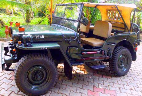 1967 Willy's CJ3A Jeep Profile