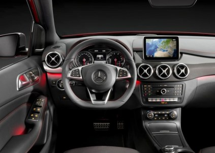 2015 Mercedes Benz B-Class Hatchback Facelift Dashboard