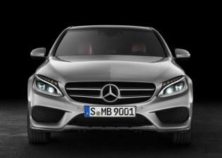 2015 Mercedes Benz C-Class Luxury Saloon Front
