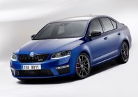 2015 Skoda Octavia vRS Front Three Quarters