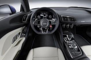 2016 Audi R8 Supercar Dashboard