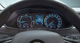 016 Skoda Superb Luxury Saloon Instrumentation