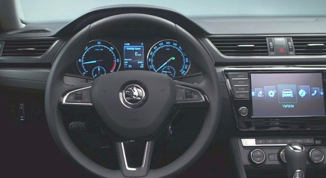 016 Skoda Superb Luxury Saloon Steering