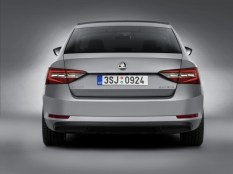 016 Skoda Superb Luxury Saloon Rear