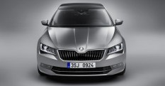 016 Skoda Superb Luxury Saloon Front