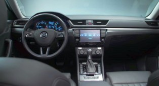 016 Skoda Superb Luxury Saloon Dashboard