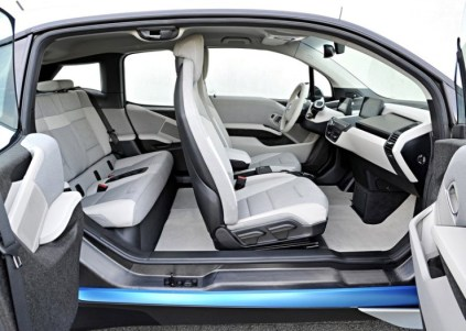 BMW i3 Electric Car Interiors