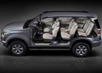 Chevrolet TrailBlazer SUV Seating