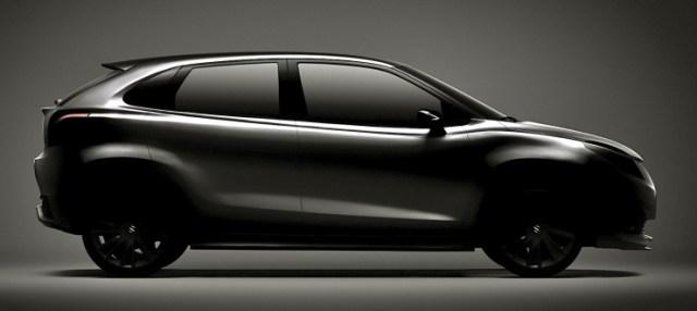 Suzuki iK-2 Concept Hatchback Teaser