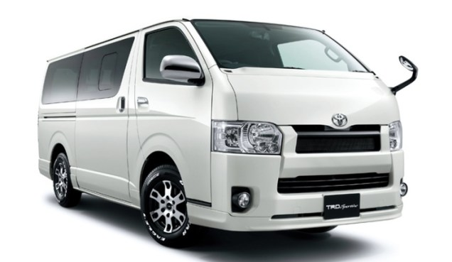 Toyota Hiace MPV TRD Front