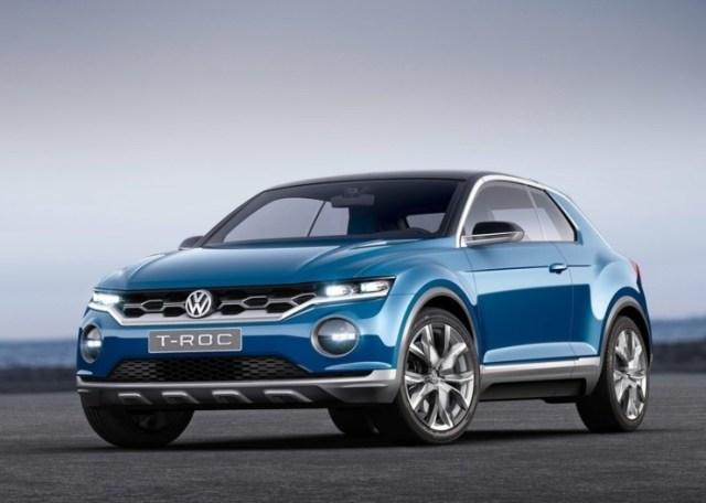 Volkswagen T-ROC Compact SUV Concept Front