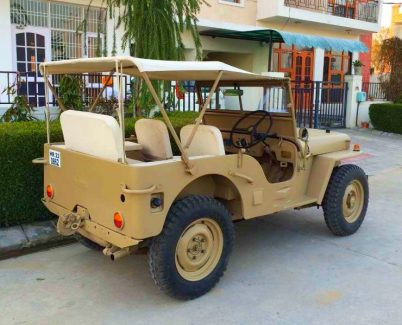 1981 Willy's Jeep with Toyota Diesel Engine Rear