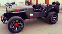 1976 Willy's Jeep Profile