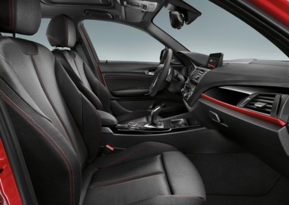 2015 BMW 1-Series Hatchback Facelift Interiors