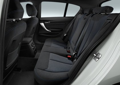 2015 BMW 1-Series Hatchback Facelift Rear Seat