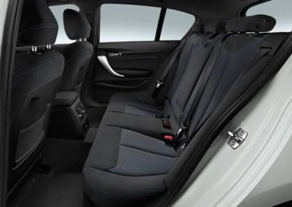 2015 BMW 1-Series Hatchback Facelift Rear Seat
