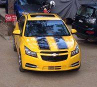 FRK Chevrolet Cruze Bumblebee 1
