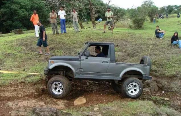 Maruti Gypsy King with Off Road Modifications 3