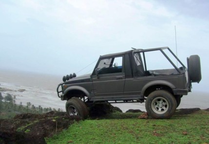 Maruti Gypsy King with Off Road Modifications 4