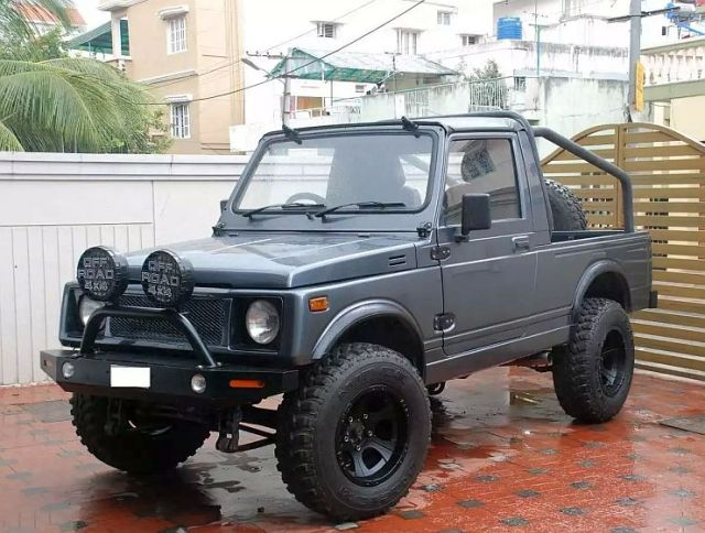Maruti Gypsy Narrow Track to Off Roader 1