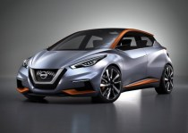 Nissan Sway Concept Hatchback Front Three Quarters