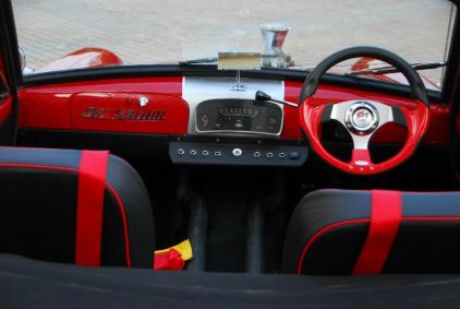 Fiat SB1100 Convertible Dashboard