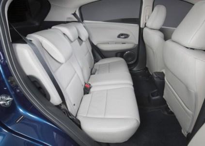 Honda HR-V SUV Rear Seat