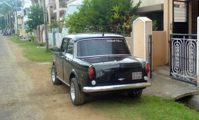 Premier Padmini Hot Rod Rear