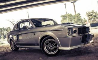 Chevrolet Optra to Ford Mustang Eleanor Replica 3