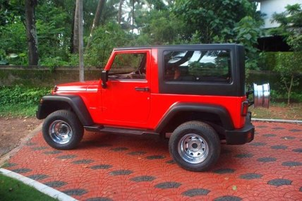 Jeep Rubicon based on Mahindra Thar 3