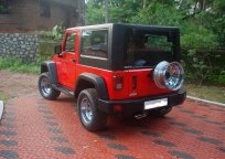 Jeep Rubicon based on Mahindra Thar 4