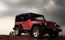 Jeep Wrangler based on Mahindra MM540 4