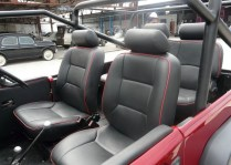 Jeep Wrangler based on Mahindra MM540 6