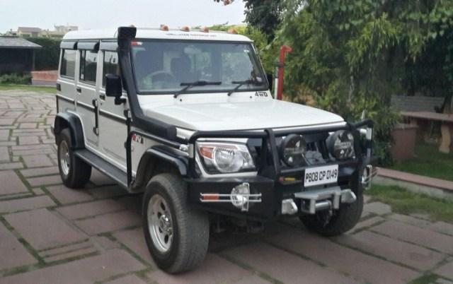 Mahindra Bolero Custom 1