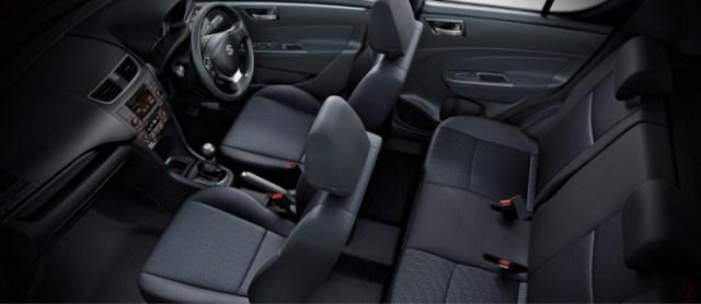 Maruti Suzuki Swift Facelift Interiors