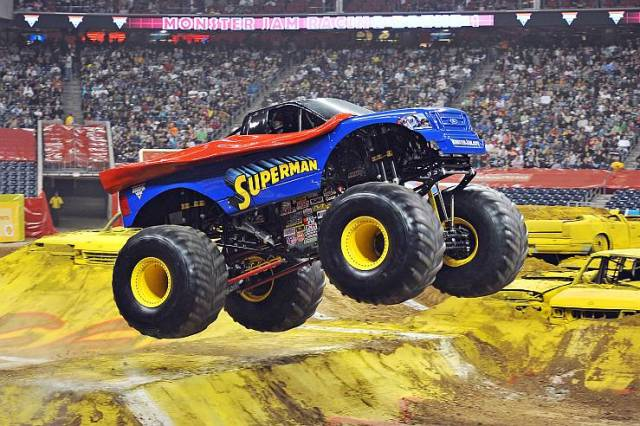 Monster Truck in Action