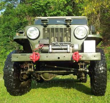 Willy's CJ3B Diesel Jeep 3