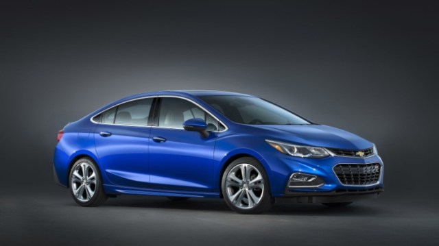 All-New 2016 Chevrolet Cruze Sedan 1