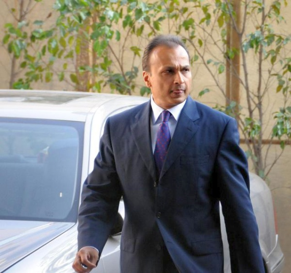 Anil Ambani with his Rolls Royce Phantom