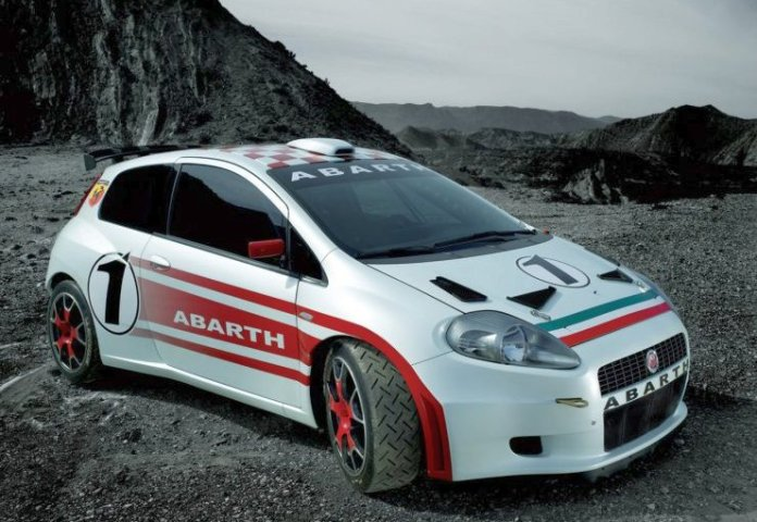Fiat Punto Abarth Esseesse used as an illustration