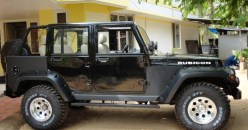 Mahindra Armada to Jeep Wrangler Unlimited 1