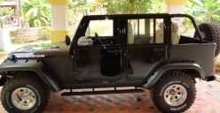 Mahindra Armada to Jeep Wrangler Unlimited 4