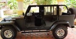 Mahindra Armada to Jeep Wrangler Unlimited 4