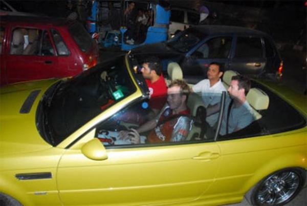 Yuvraj Singh with his E93 BMW M3 2