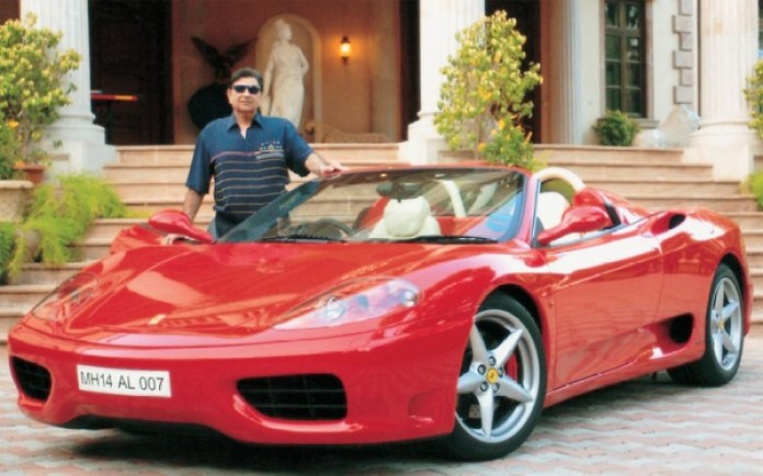 Ratan Tata's Ferrari to Mukesh Ambani's BMW 7-Series: Indian business tycoon cars Cyrus Poonawalla with his Ferrari F430