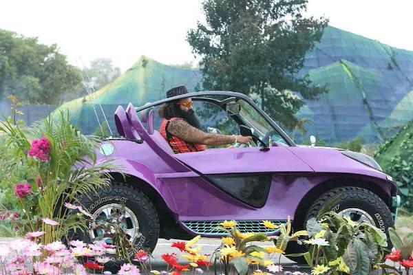 Gurmeet Ram Rahim Singh Insan's Modified Off Roader