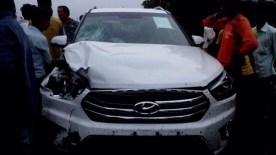 Hyundai Creta Crash 4