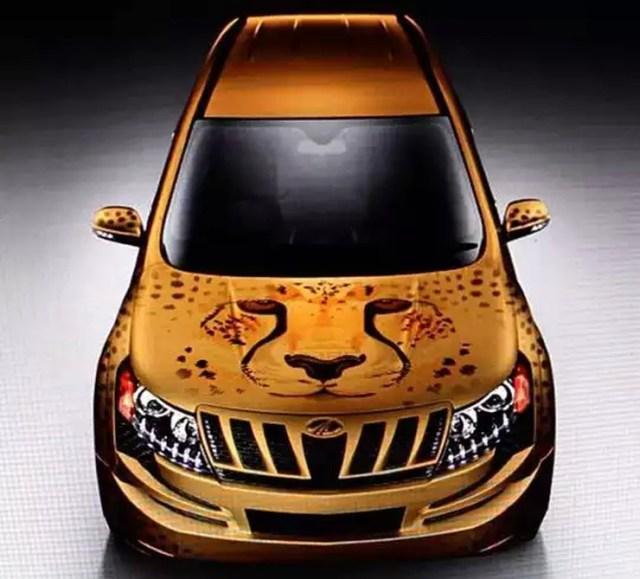 Mahindra XUV500 Cheetah 1