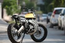 Motoexotica's Yamaha RD350 Scrambler Eight 1